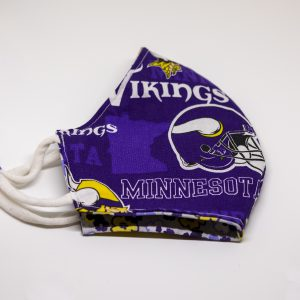 Vikings Print Face Mask