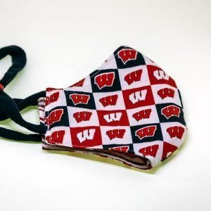 Badgers / W Logo Face Mask